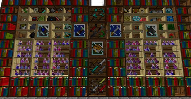BiblioCraft Mod para Minecraft 1.6.2 y 1.6.4
