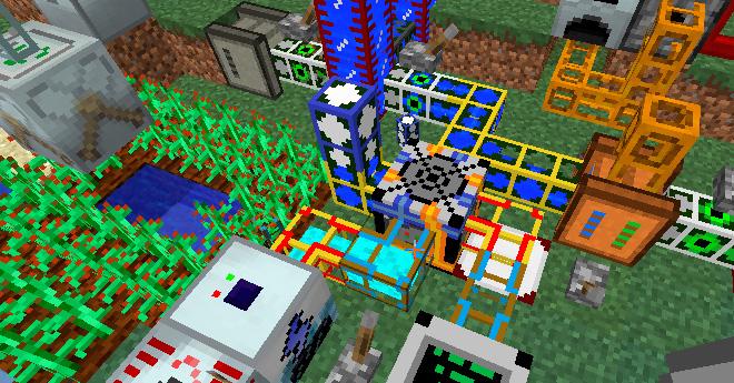 Industrial Craft 2 Mod para Minecraft 1.7.2
