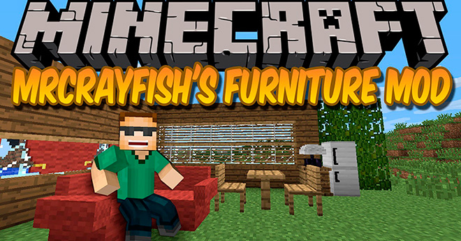 MrCrayfish's Furniture Mod para Minecraft 1.6.2 y 1.6.4