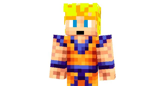 Son Goku Super Saiyan Skin Para Minecraft Minecraft Mods - Skin para minecraft pe goku