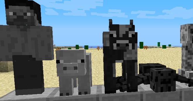 Statues Mod para Minecraft 1.6.4