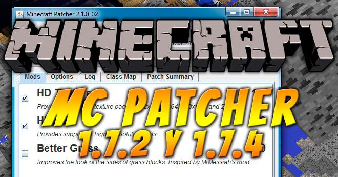 MC Patcher para Minecraft 1.7.2 y 1.7.4