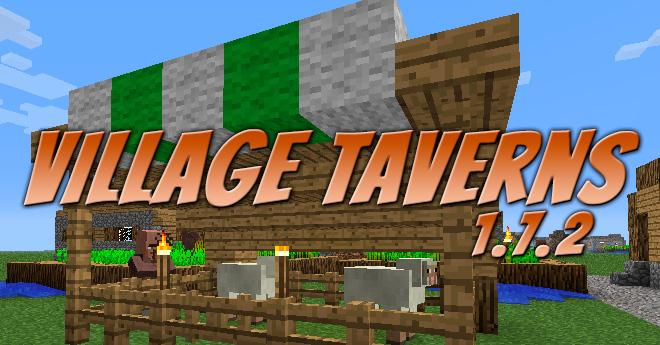 Village Taverns Mod para Minecraft 1.7.2
