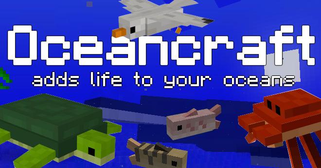 Oceancraft Mod para Minecraft 1.7.2