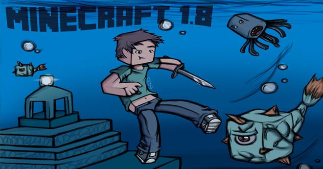Todas las novedades de Minecraft 1.8