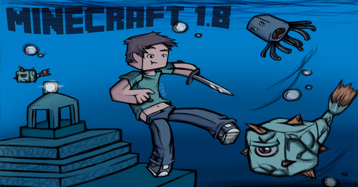 Minecraft 1.8 update