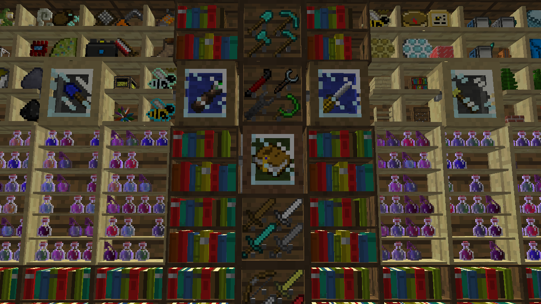 Bibliocraft Mod para Minecraft 1.7.10